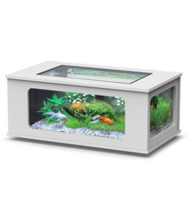 Aquatlantis Aquatable led cm130x75x57h Bianco