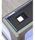 Aquatlantis Aquatable led cm130x75x57h Cemento