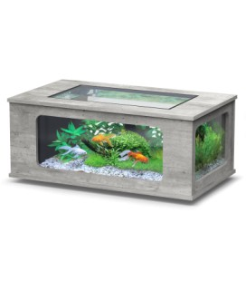 Aquatlantis Aquatable led cm130x75x57h (Colore : Cemento)