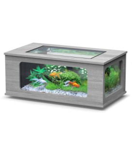 Aquatlantis Aquatable led cm130x75x57h (Colore : Ash grey)