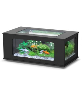 Aquatlantis Aquatable led cm130x75x57h (Colore : Nero)