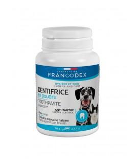 Francodex dentifricio in polvere per cani