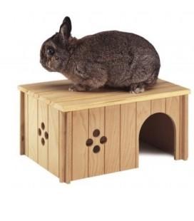 Ferplast SIN 4646 casetta di legno per roditori
