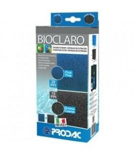 Prodac bioclaro 16x10x6.5 h spugne filtranti 2 pezzi
