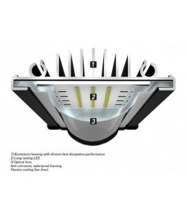 Aquatlantis Easy Led Freashwater 549mm - 6800K - 28W (Plafoniera Universale)