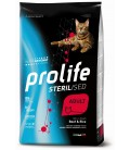Prolife gatti adulti sterilizzati al Manzo e riso gr.400