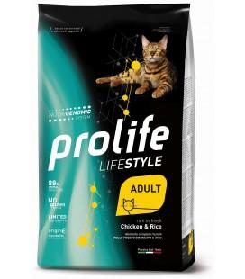 Prolife life style gatti adulti al Pollo e Riso gr.400 Promo