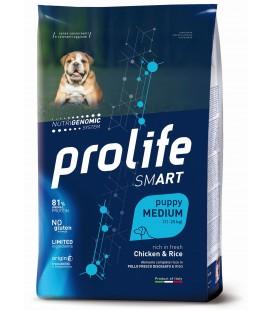 Prolife smart Puppy medium con Pollo e Riso kg.2.5 secco