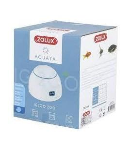 Zolux areatore igloo 200 2 vie per acquario da 100 fino a 200 litri colore bianco