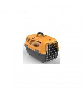 Petmax Nomade 1 Lux trasportino cm 48x32x32 colore grigio chiaro/grigio scuro