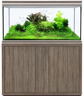 AQUATLANTIS ACQUARIO FUSION 120x50x70h OLIVA SATINATO CON SUPPORTO 19MM (NUOVO MODELLO)
