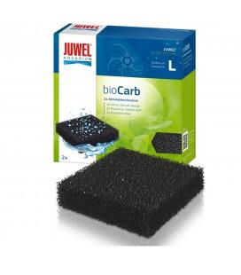 Juwel BioCarb L Spugna carbone per filtro Bioflow 6.0 Standard con carbone attivo per acquario