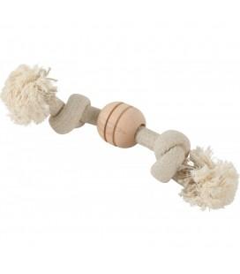 Zolux Wild mix giant rope 2 nodi. dimensioni ø 3 cm x 40 cm. giocattolo per cani
