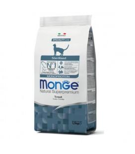 MONGE CAT MONOP. STERILIZED TROTA KG.1,5
