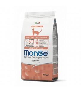 MONGE CAT ADULT SALMONE KG.1,5