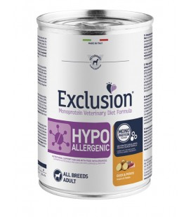 Exclusion Diet Hypoallergenic Anatra e Patate CANI GR 400