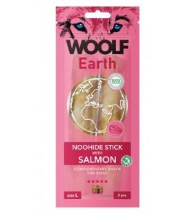 Woolf Earth NOOHIDE L Stick con Salmone gr 85 2 pezzi