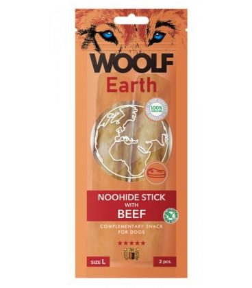 Woolf Earth NOOHIDE XL Stick con manzo gr 85