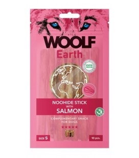 Woolf Earth NOOHIDE S Stick con salmone gr 90 10 pezzi