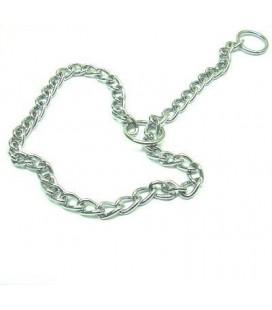 Giumar Collare in metallo strangolo maglia fine cm 60