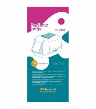 Ferplast FPI 5362 12 pezzi sacchetti igienici per lettiere