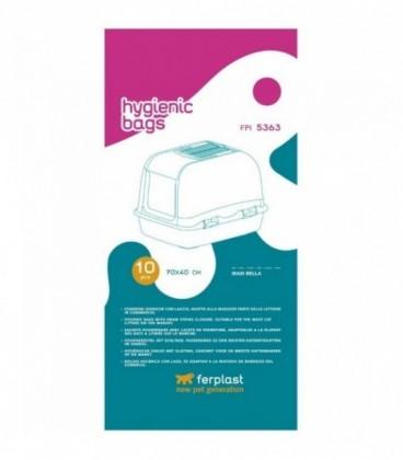 Ferplast FPI 5363 10 pezzi sacchetti igienici per lettiere