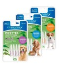 Francodex pipette insettifughe repellenti per cani da 10 a 20 kg estratti di margosa 3pz