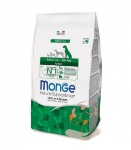 Monge natural Superpremium crocchette adult maxi 32-80 kg con pollo kg 12