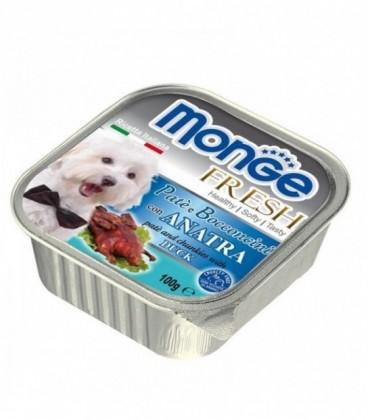 Monge Fresh pate' e bocconcini in vaschetta con anatra gr.100