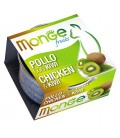 Monge Fruits in scatola con pollo e kiwi gr.80
