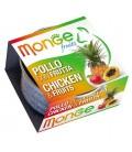 Monge Fruits in scatola con pollo e frutta gr.80