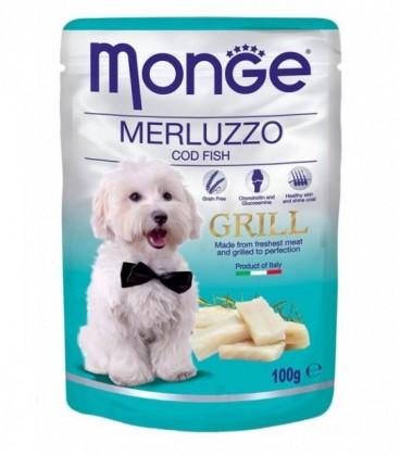 Monge Natural Grill bocconcini umido in bustina con merluzzo gr.100