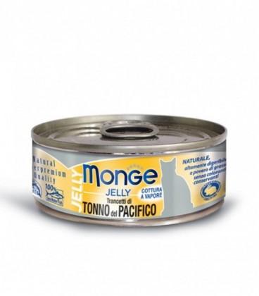 Monge Natural Jelly in scatola trancetti di tonno del pacifico gr.80
