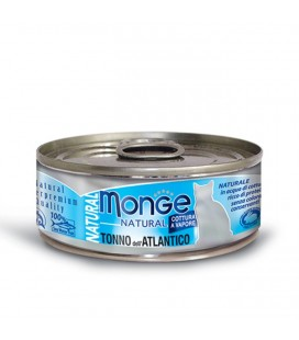 Monge Natural in scatola con tonno dell'atlantico gr.80