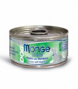 Monge Natural Superpremium in scatoletta con pollo e verdure gr.95