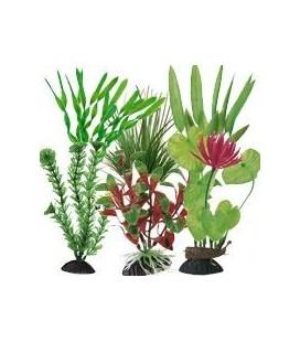Ottavi pianta in plastica vari colori cm 20