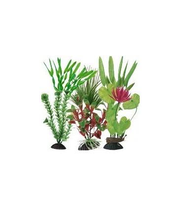 Ottavi pianta in plastica vari colori cm 32