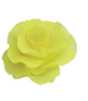 Giumar decorazione in resina corallo giallo 10,5x5,5x10 cm