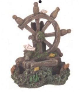Giumar decorazione in resina timone spezzato 16x9,4x19,4 cm ro2284
