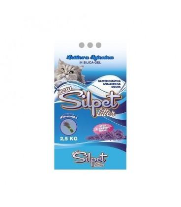 Silpet lettiera in silicio 5.3 litri profumata alla lavanda