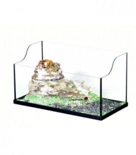 Ottavi tartarughiera Triki cm 40 con isola filtro