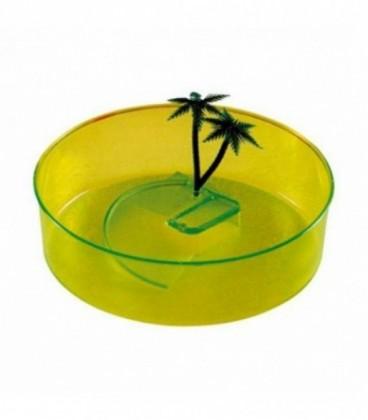 Tartarughiera in plastica tonda diametro 21,5 cm