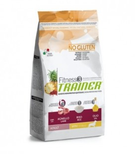 Trainer Fitness 3 Adult Mini con agnello,riso e olio kg. 2