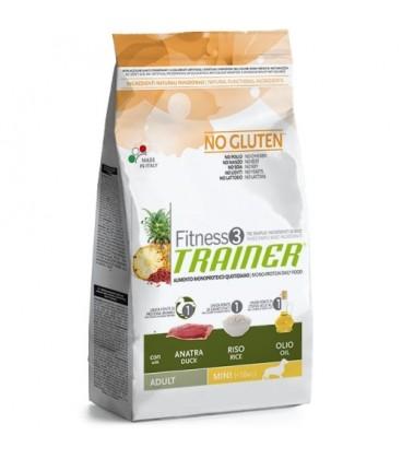 Trainer Fitness 3 monoproteico Adult Mini anatra,riso e olio gr.800