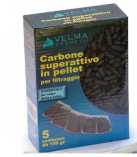 Velma Carbone attivo in busta 5 Pz - 500g 5 buste da 100g