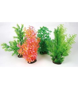 Zolux Pianta in plastica vari colori con diffusore aria misura XL 40 h cm