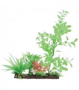 Zolux pianta in plastica su unica barra 20 cm assortite