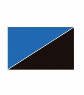Ottavi sfondo acquario doppia faccia blu/nero al metro