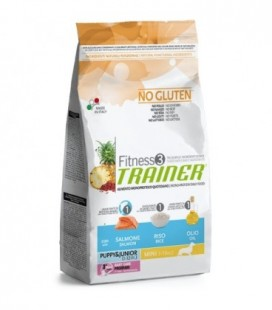 Trainer Fitness 3 monoproteico Adult Mini salmone,mais e olio gr.800