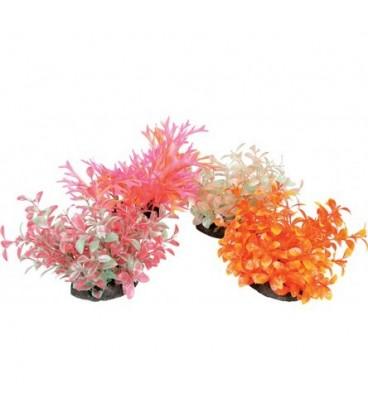 Zolux pianta in plastica vari colori con diffusore aria misura M 17h cm
